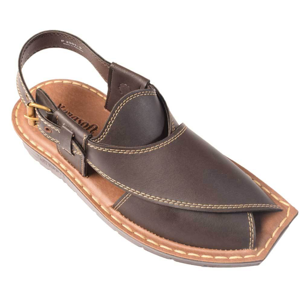 Xarasoft Men's P-2301 Traditional Sandals Men's Shoes Xarasoft