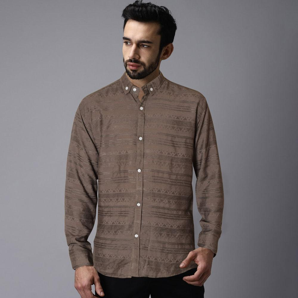Men's Nazca Long Sleeves Casual Shirt Men's Casual Shirt First Choice S