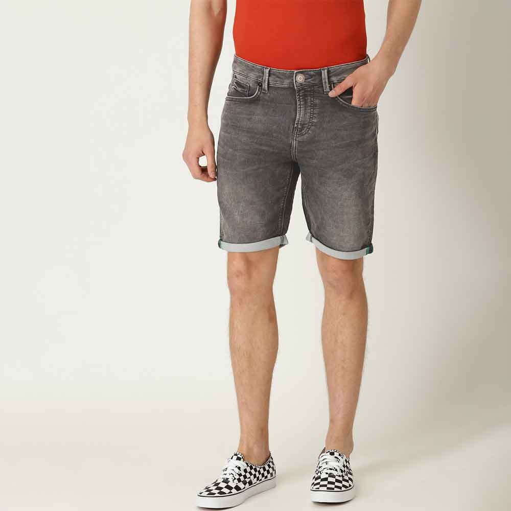 DNM Men's Fronteira Denim Shorts Men's Shorts SRK Graphite 28 19
