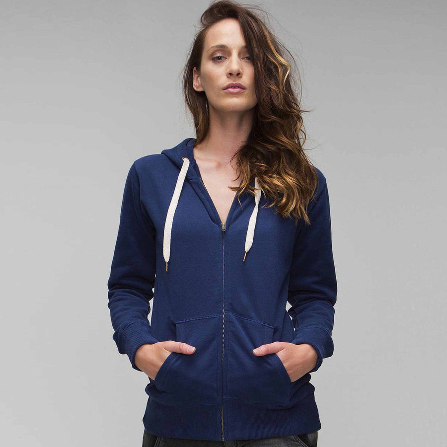 Women's MTS Original Zipper Hoodie - ExportLeftovers.com