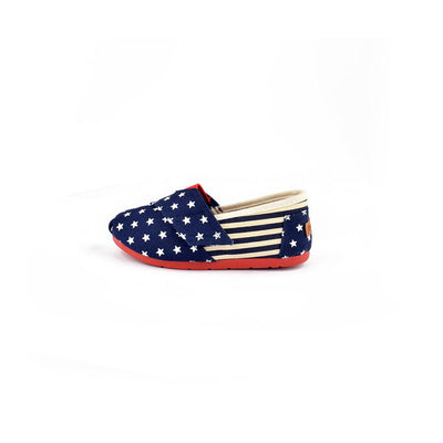 Xin Yan States Flag Printed Girls Canvas Shoes Girl's Shoes Sunshine China