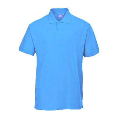 PRT Vonboni Short Sleeve Polo Shirt Men's Polo Shirt Image Sky Blue L