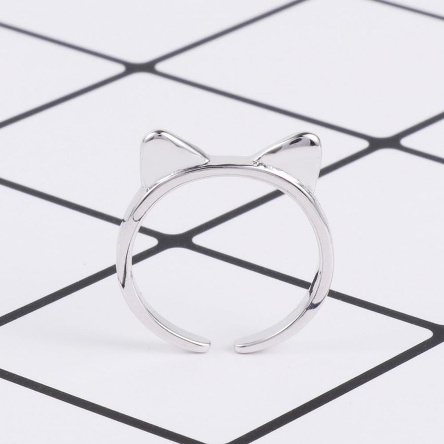 Cat Ear Design Opening Ring