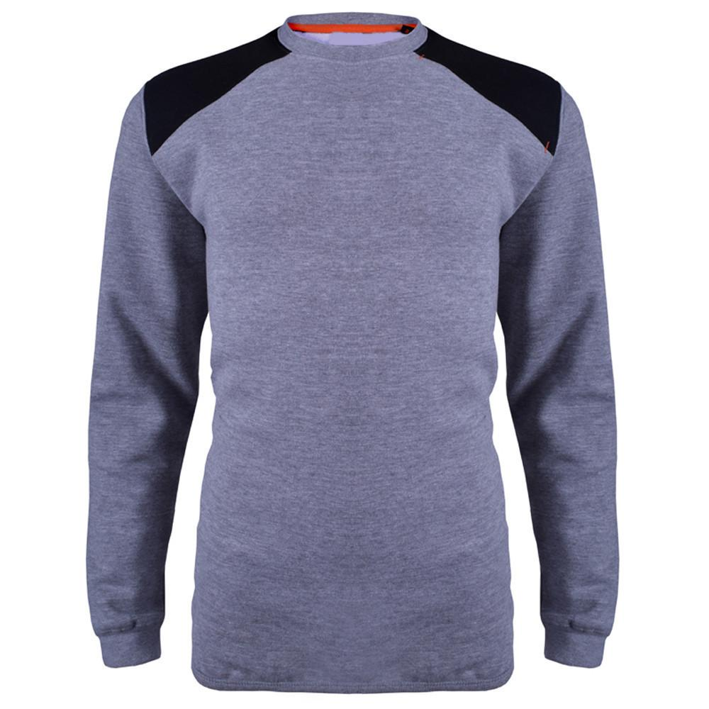 HRCK Alban Sweat Shirt Men's Sweat Shirt Image Grey XL