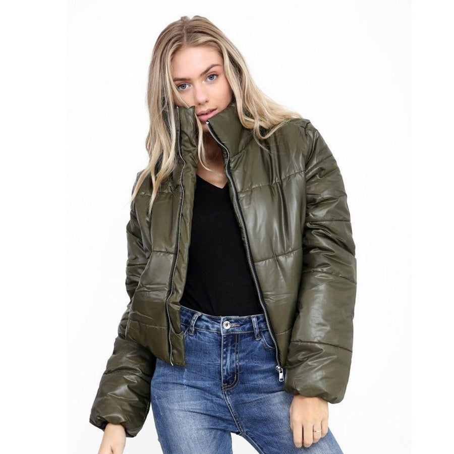 Women's Rising Quilted Padded Puffer Bubble Jacket