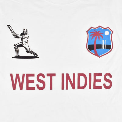 LE West Indies Cricket Men's Crew Neck Tee Shirt Men's Tee Shirt Image