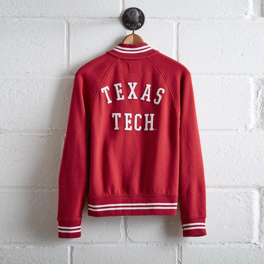 TG Texas Tech Women's Fleece Bomber Jacket