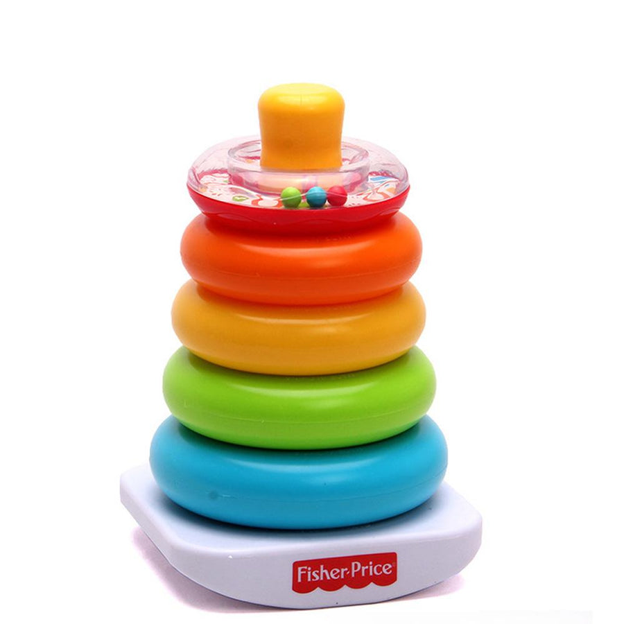 Spot FP Rainbow Sets Of Layers Stacked Tumbler Puzzle Toys