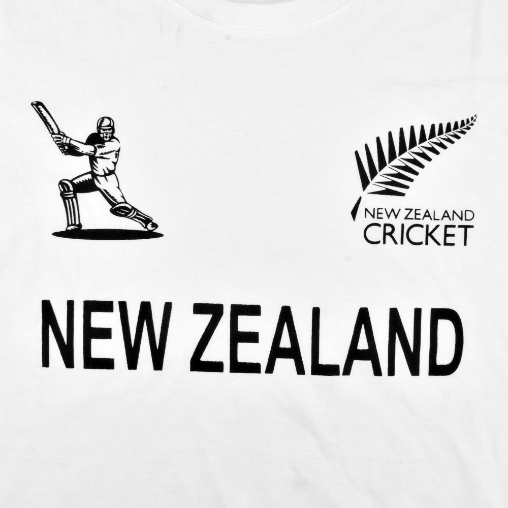 LE New Zealand Cricket Men's Crew Neck Tee Shirt Men's Tee Shirt Image