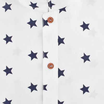 Polo Republica Star Design Boy's Kurta Boy's Kurta MAJ