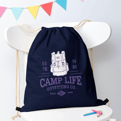 Polo Republica Camp Life Drawstring Bag Drawstring Bag Polo Republica Navy