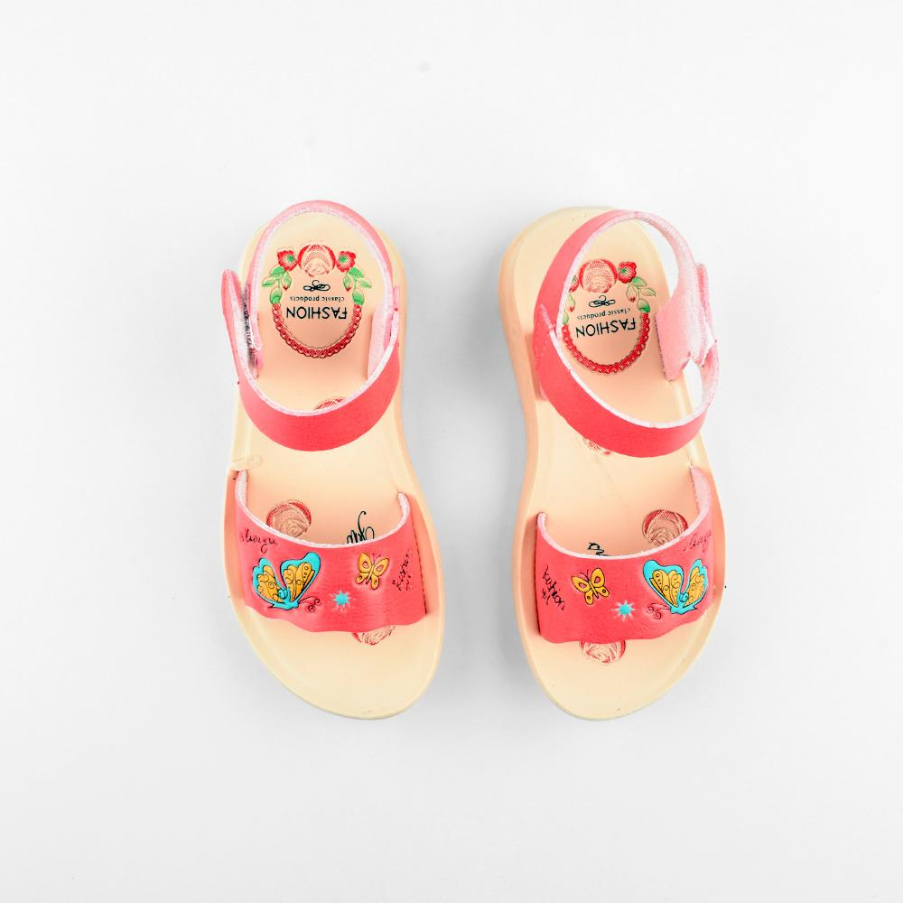 Shishang Trendy Girls Sandal Girl's Shoes Sunshine China Dark Pink EUR 25