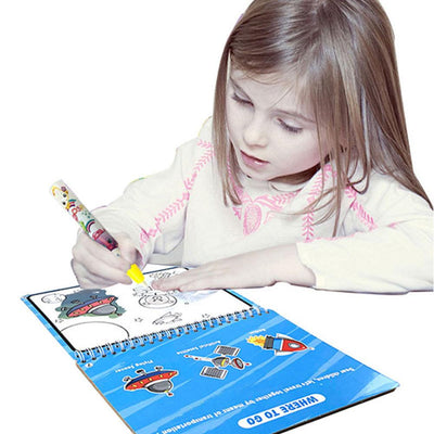 Kid's Magic Water Drawing Book Toy Sunshine China