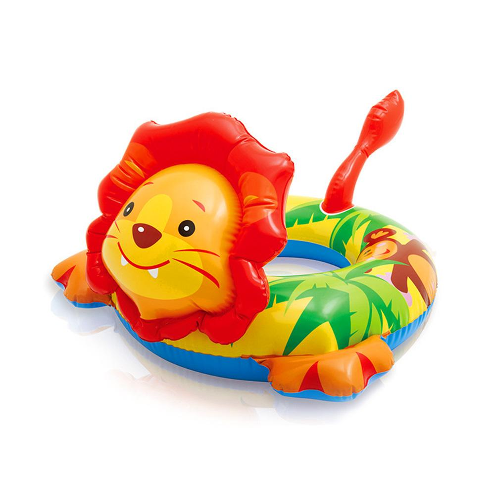 Intex Cartoon Shape Swimming Tube Inflatable Toy Sunshine China Lion