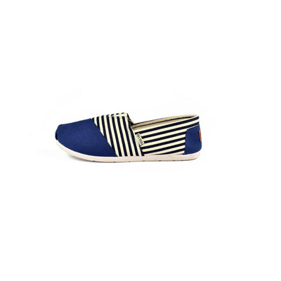 Xing Yan Stripes Design Women's Canvas Shoes Women's Shoes Sunshine China