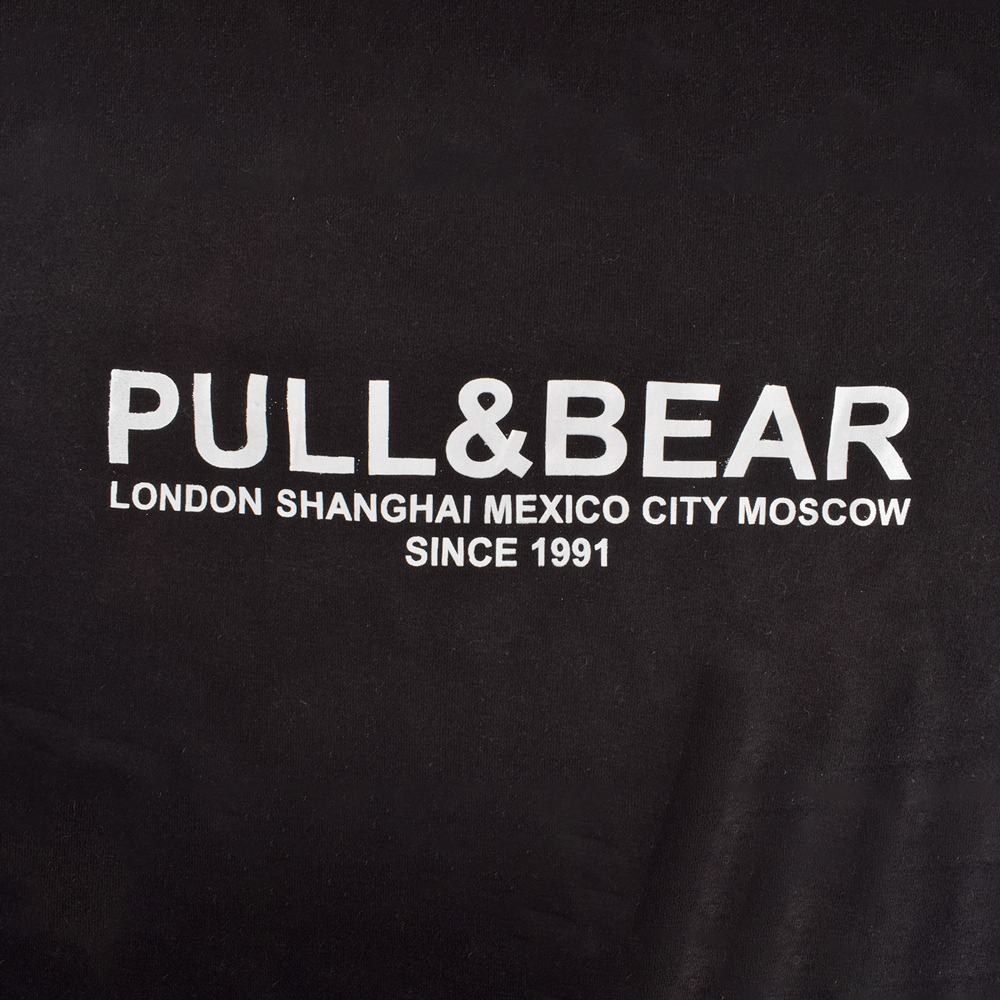 Pull&Bear Men's London to Moscow Printed SweatShirt Men's Sweat Shirt First Choice