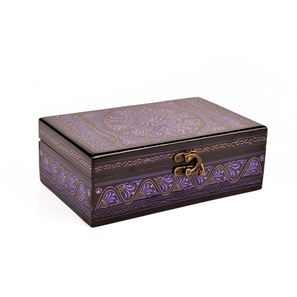 Samobor Designs One Piece Jewelry Box Jewellery SAK Purple