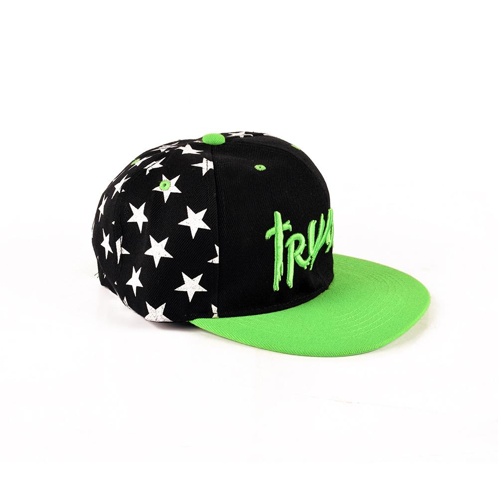 Trukfit Contrast Color Embro Logo Baseball Cap Headwear MB Traders