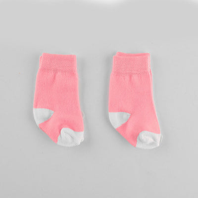 Polo Republica New Born Charming Style Pack of Two Socks Socks RKI Pink New Born