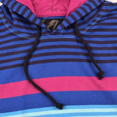AMP Men's Yarn Dyed Stripe Malartic Pullover Hoodie Men's Pullover Hoodie First Choice