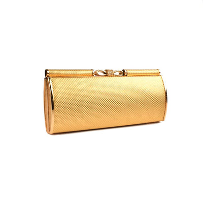 Ratoath Charming Top Bow Rexine Outer Clutch Bag Hand Bag CPUQ
