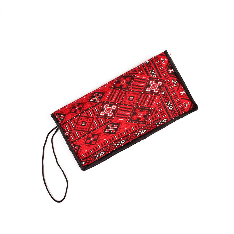 ANF Women's Hand Crafted Rug Pouch Hand Bag ANF