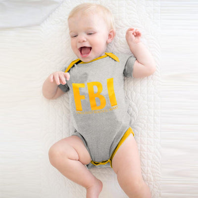Polo Republica Fabulously Infant Baby Romper Babywear Polo Republica Heather Grey Yellow 0-3 Months