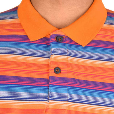 Datch Dudes Blaustein Multi Contrast Striper Polo Shirt Men's Polo Shirt First Choice