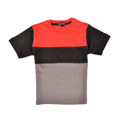 Jonathan Corey Kids Panelled Tee Shirt Boy's Tee Shirt First Choice D2 S