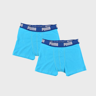 PMA Pack Of Two Men's Boxer Shorts Men's Underwear AGZ Sky Blue S