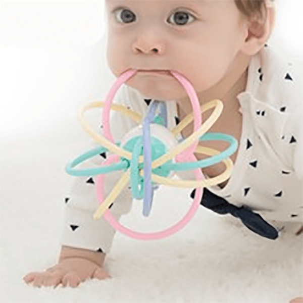 Manhattan Ball Baby Rattle Teether Toy for Kid's Toy Sunshine China