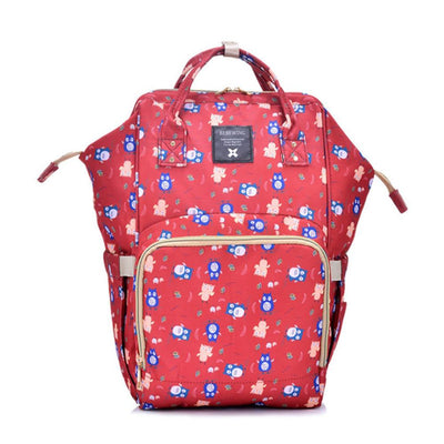 Bebewing Printed Baby Diaper Backpack Bag Women's Accessories Sunshine China Owl Print