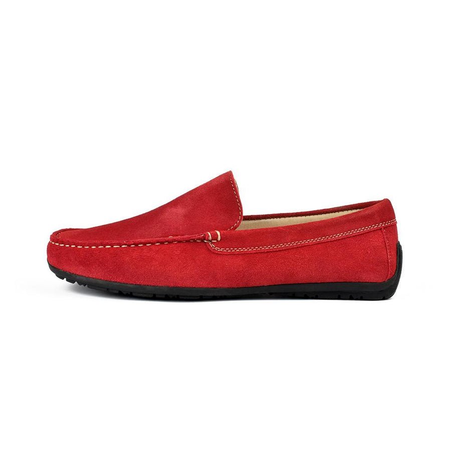 Mondo Comodo Arslev Suede Leather Loafers