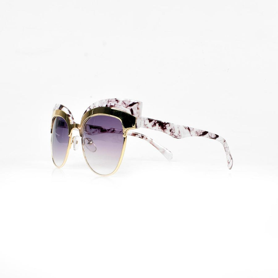 MB Women's Marble Style Sunglasses