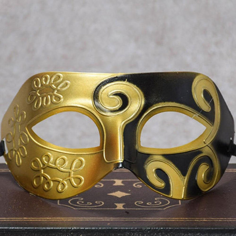 Cool Men Fighter Masquerade Ball Party Face Mask