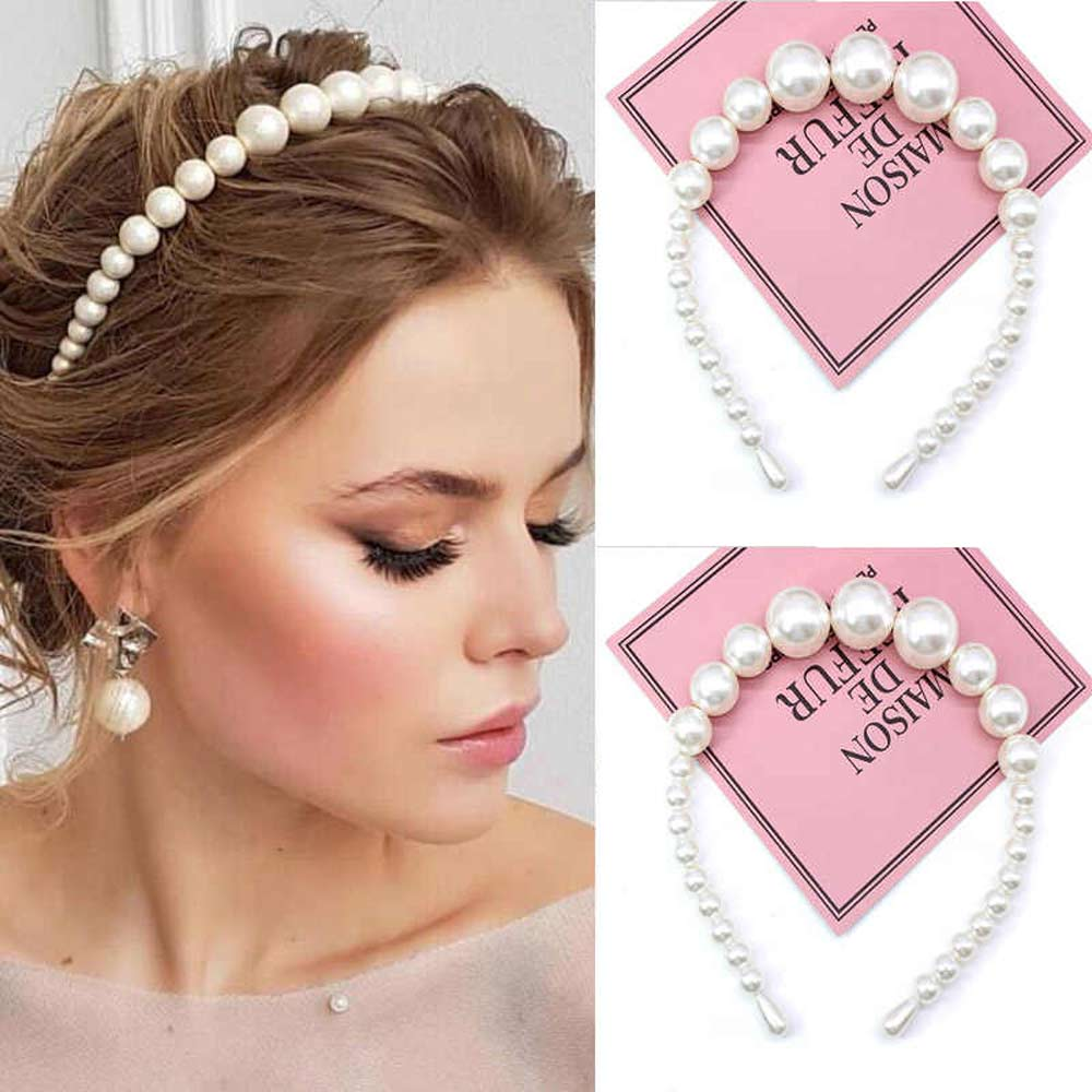 Girl's Handmade Multi Design Bride Pearl headband Girl's Jewelry Sunshine China