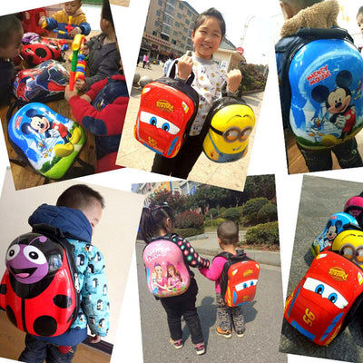 Cartoon Character Hard Shell Backpack School Bag Sunshine China
