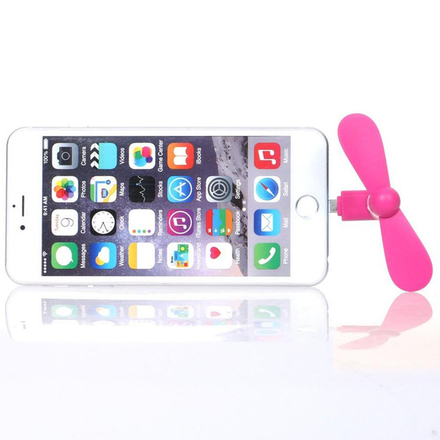 Mini smartphone Connected Fan