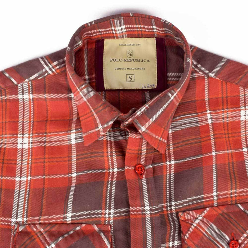 Polo Republica Latrica Long Sleeve Casual Shirt Men's Casual Shirt RDS S