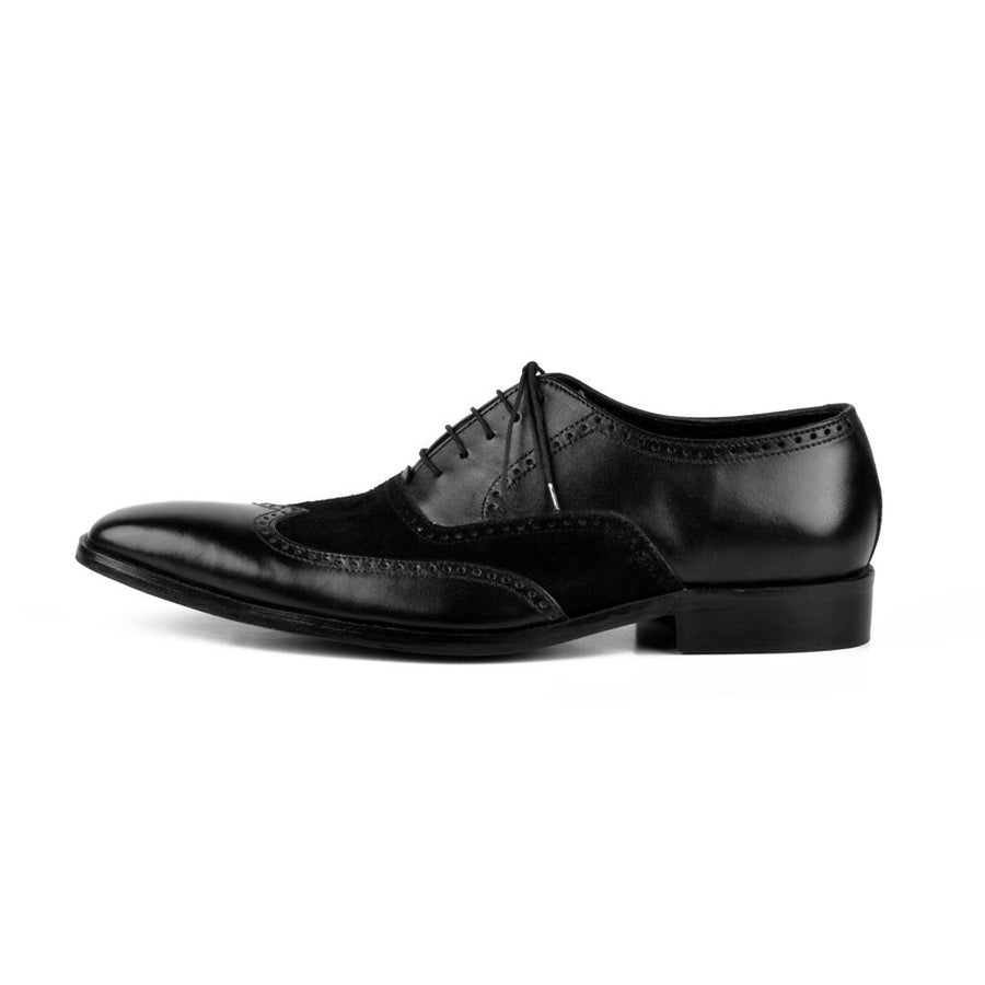 Bellege Bespoke Cap Toe Formal Leather Shoes