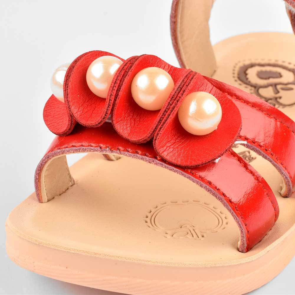 Yudebao Girls Pearl Faux Leather Sandals Girl's Shoes Sunshine China