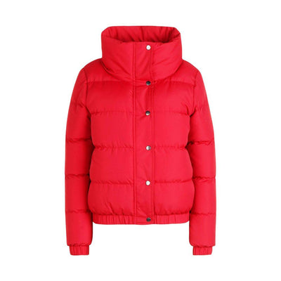 BHO Crop Funnel Neck Padded Jacket Women's Jacket Fiza Red S