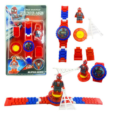 Anime Fiugres Blocks Digital Watch Stationary & General Accessories Sunshine China Spider Man