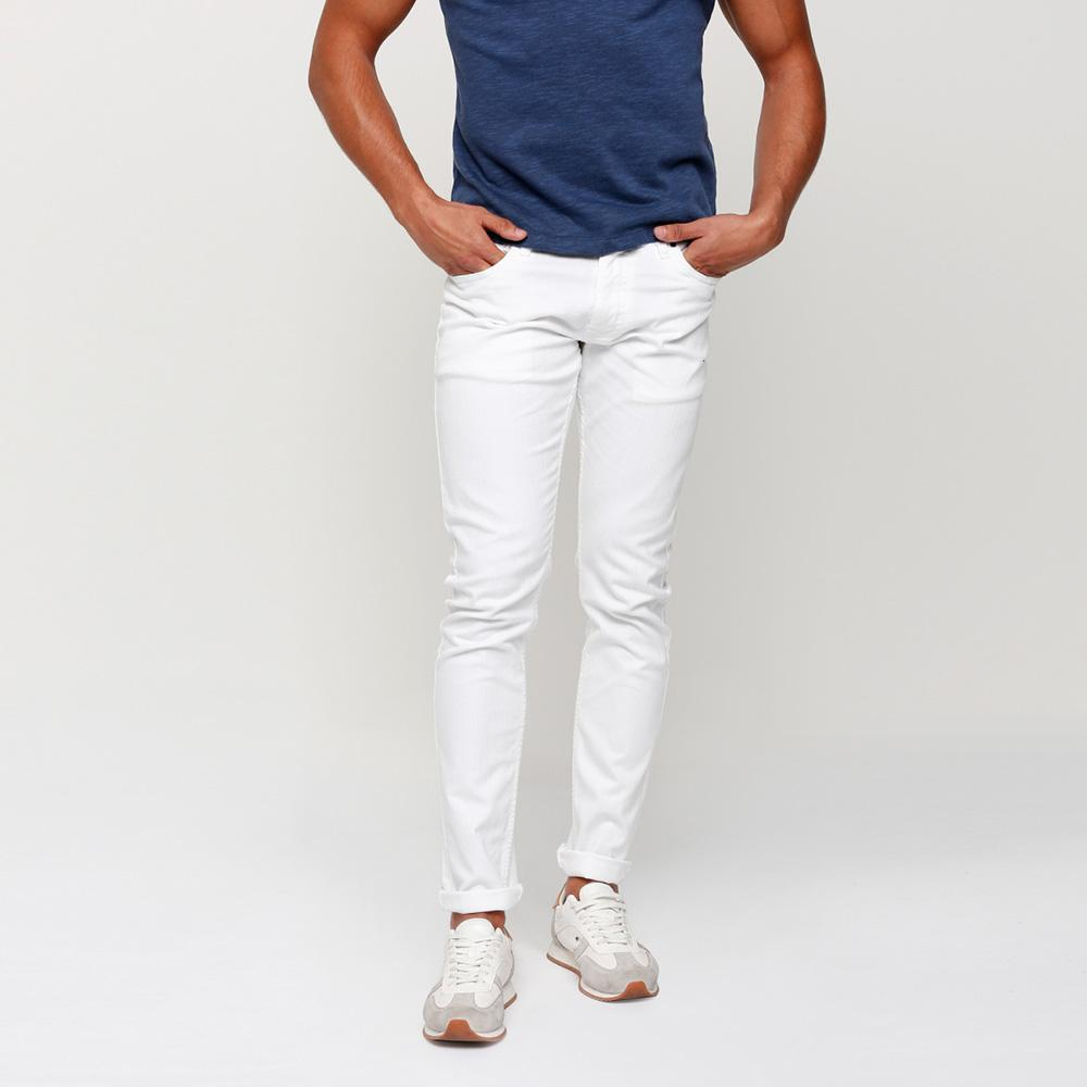 SPLH Men's Modish Straight Fit Denim Men's Denim First Choice White 28 30