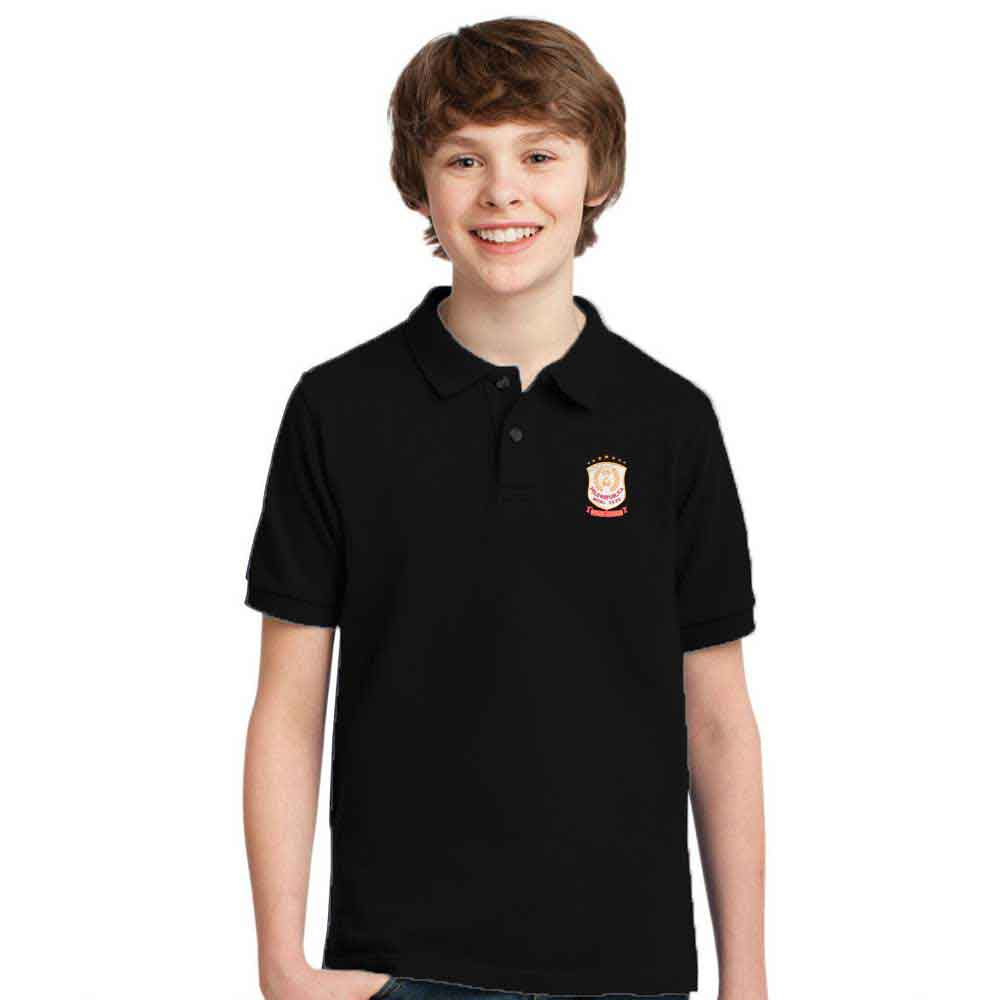 Polo Republica Boy's Laredo Polo Shirt Boy's Polo Shirt Image Black 0