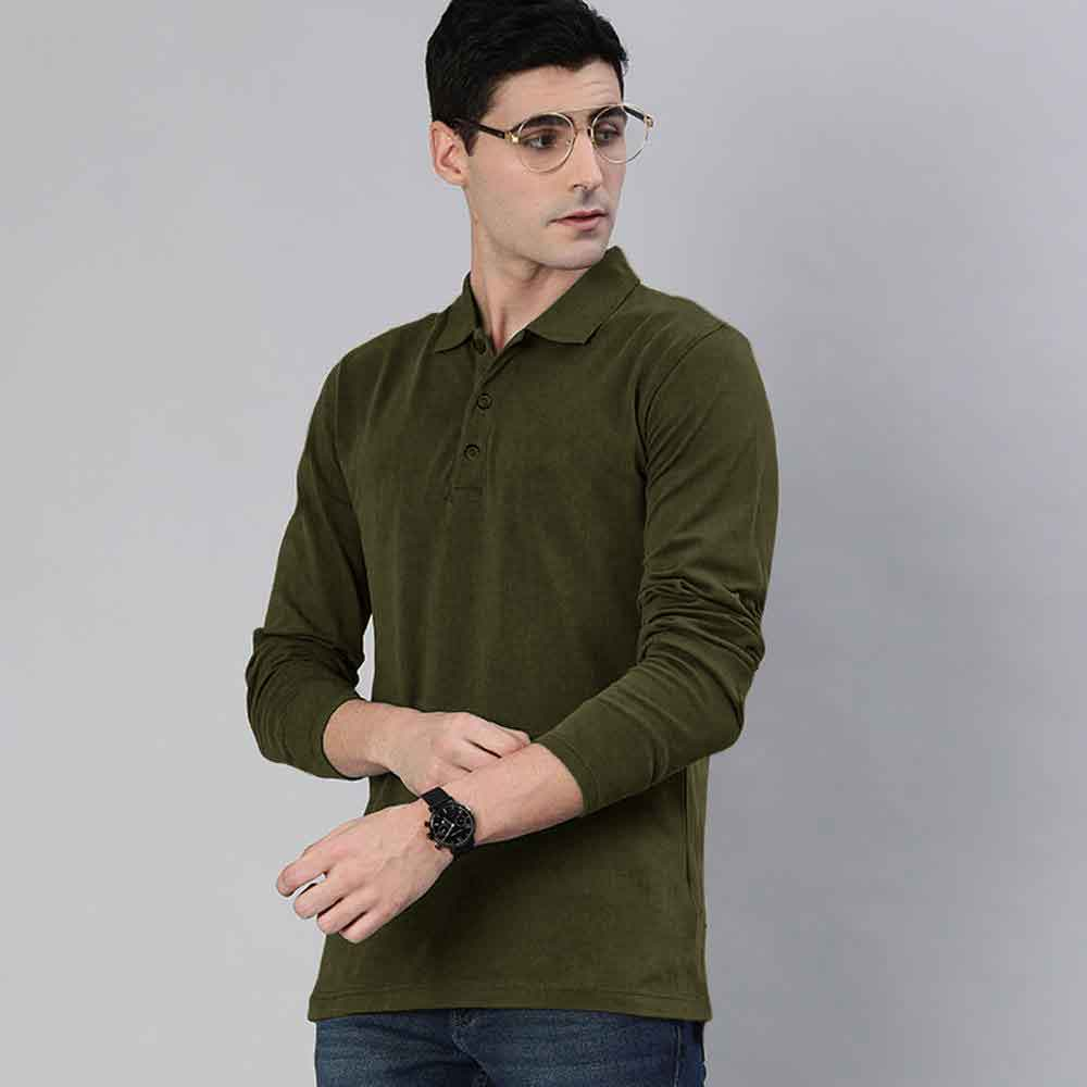 Polo Republica Men's Jamaica Long Sleeve Polo Shirt Men's Polo Shirt Polo Republica