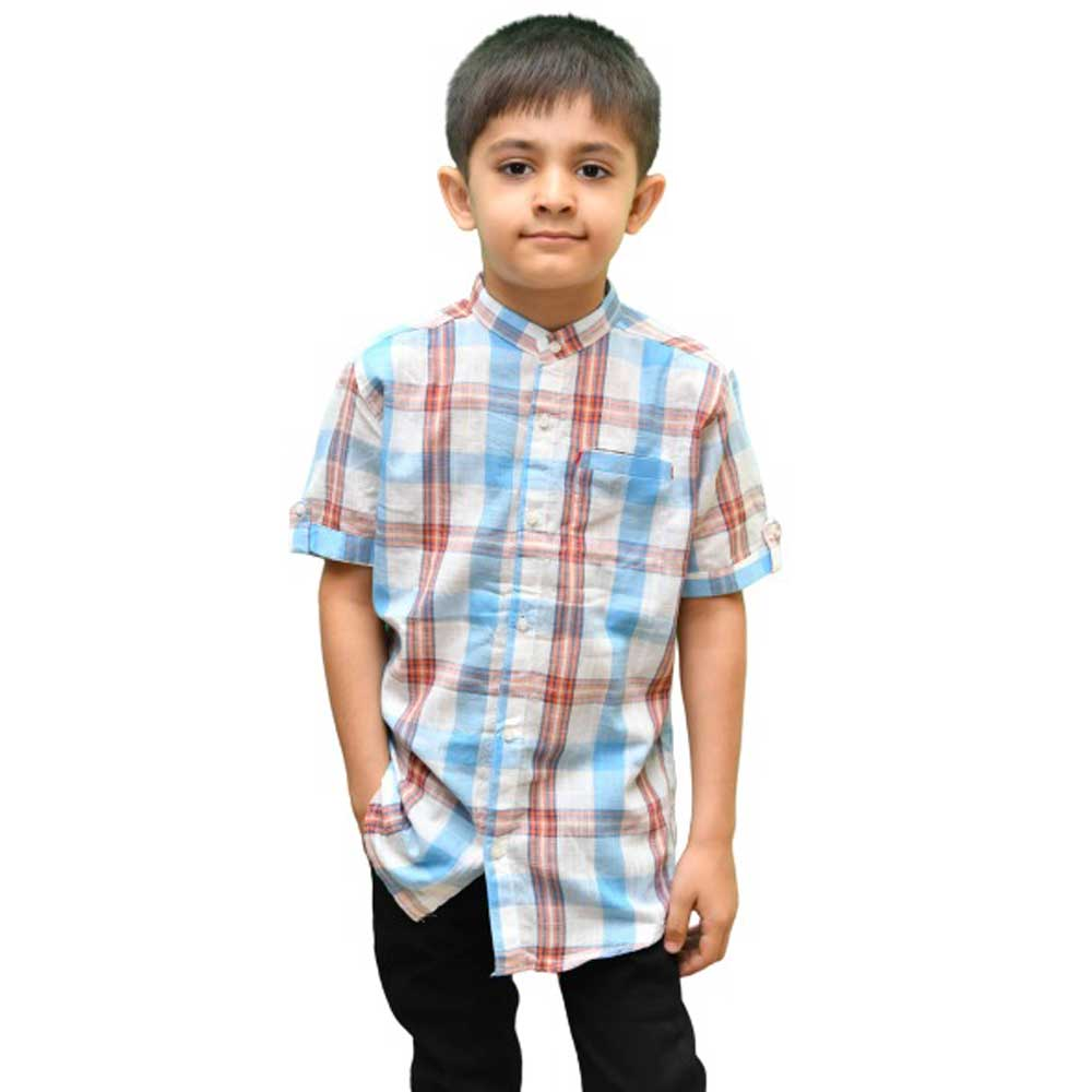 SRT Boy's Cayambe Short Sleeve Casual Shirt Kid's Casual Shirt SRT 16 (2-3 Years)