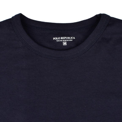 Polo Republica Tamura Long Sleeves Rib Tee Shirt Men's Tee Shirt Polo Republica