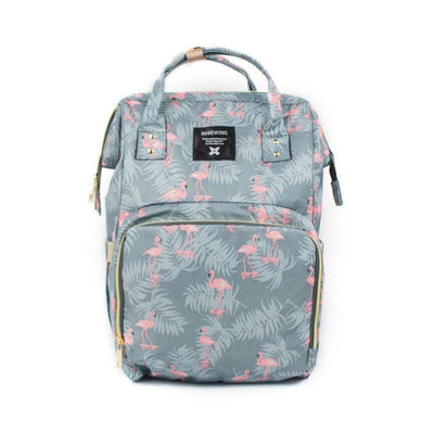 Bebewing Printed Baby Diaper Backpack Bag Women's Accessories Sunshine China Heron Print