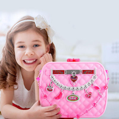 Girls Cosmetics Kit Toy Makeup Set Toy Sunshine China Pink